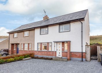 Thumbnail 3 bed semi-detached house for sale in The Bents, Banff, Aberdeenshire
