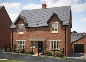 "Thumbnail 4 bed detached house for sale in ""The Gloucester With Garden Room"" at Lutterworth Road, Rugby"