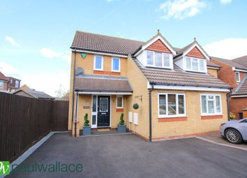 Thumbnail 3 bedroom semi-detached house to rent in Shambrook Road, Cheshunt, Waltham Cross