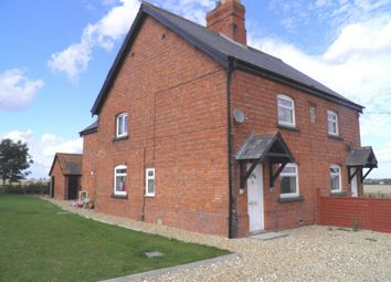Thumbnail 3 bed semi-detached house to rent in Manor Farm Cottage, Graby, Sleaford, Lincolnshire