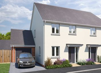 """Thumbnail 3 bed semi-detached house for sale in """"The Ashridge"""" at Vicarage Hill, Kingsteignton, Newton Abbot"""