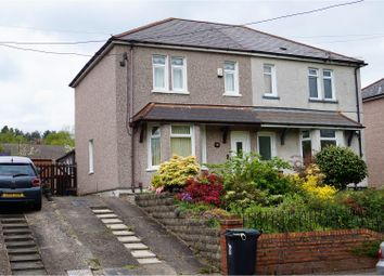 Thumbnail 3 bed semi-detached house for sale in Rogerstone, Newport