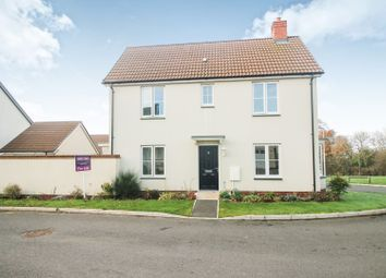 Thumbnail 3 bed detached house for sale in Webbers Meadow, Exeter