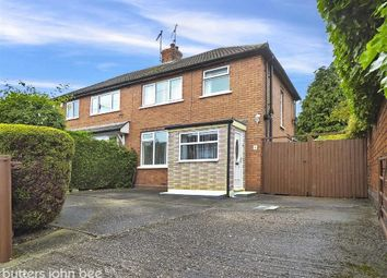 Thumbnail 3 bed semi-detached house for sale in Ellis Street, Crewe