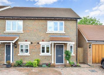 Thumbnail 2 bed semi-detached house for sale in Harwood Court, Horsham, West Sussex