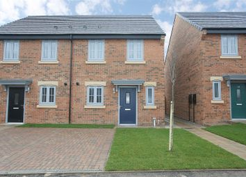 Thumbnail 2 bed semi-detached house for sale in Furrow Grange, Brookland Park, Middlesbrough
