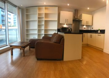 Thumbnail 1 bed flat for sale in Basin Approach, London