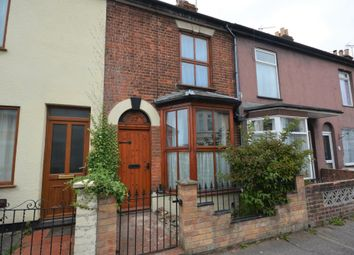 Thumbnail 2 bed terraced house for sale in Beaconsfield Road, Lowestoft