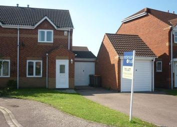 Thumbnail 2 bed semi-detached house to rent in Prudden Close, Elstow, Bedford