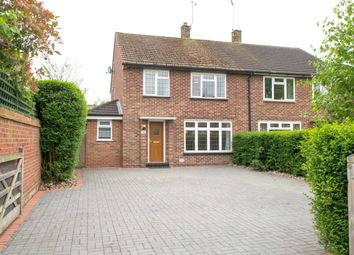 Thumbnail 3 bed semi-detached house to rent in Turfhouse Lane, Chobham