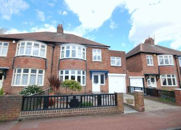 Thumbnail 4 bed semi-detached house for sale in Rokeby Drive, Kenton, Newcastle Upon Tyne