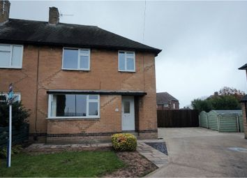 Thumbnail 3 bed semi-detached house to rent in Grasmere Close, Chesterfield