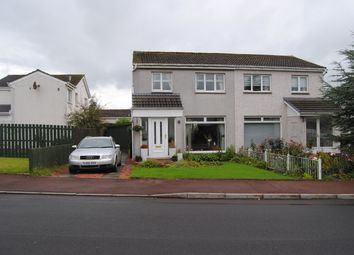 Thumbnail 2 bed semi-detached house for sale in Braemar Crescent, Carluke