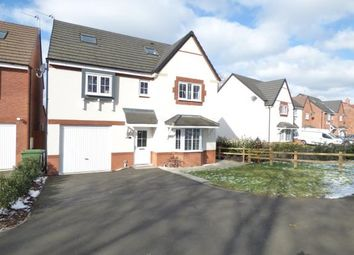 Thumbnail 5 bed detached house for sale in Hollingworth Close, Yarnfield, Stone, Stafford