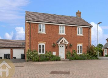 Thumbnail 4 bed detached house for sale in St. Josephs Way, Lyneham, Chippenham