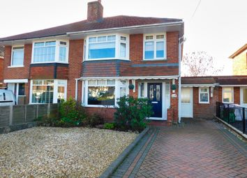 Thumbnail 3 bed semi-detached house for sale in Testwood Lane, Southampton