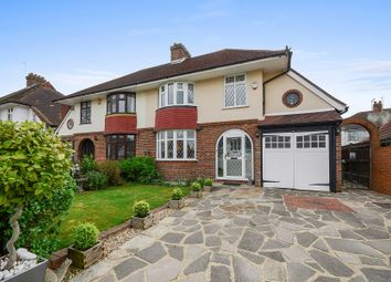 Thumbnail 4 bed semi-detached house for sale in Tudor Avenue, Worcester Park