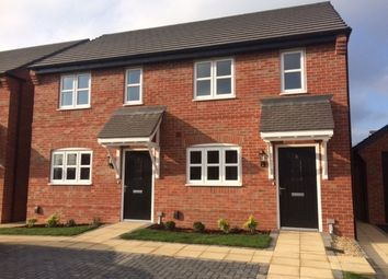 Thumbnail 2 bedroom terraced house for sale in Anstey, Leicestershire