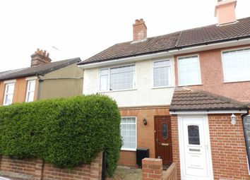 Thumbnail 2 bed end terrace house for sale in Kemball Street, Ipswich, Suffolk
