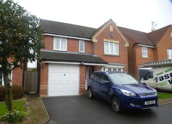 Thumbnail 4 bed detached house to rent in The Fieldings, Huthwaite, Sutton-In-Ashfield