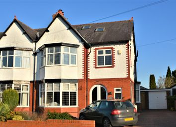 Thumbnail 4 bed semi-detached house to rent in Barrymore Road, Grappenhall, Warrington