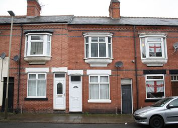 Thumbnail 2 bed terraced house to rent in Dunster Street, West End, Leicester