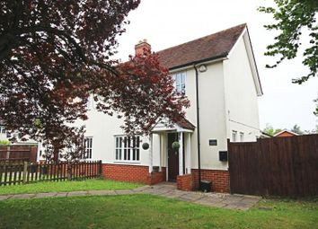 Thumbnail 3 bed semi-detached house to rent in The Street, Takeley, Essex