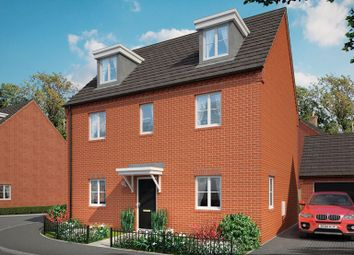 Thumbnail 5 bed detached house for sale in Brick Kiln Road, Raunds, Northampton, Northamptonshire
