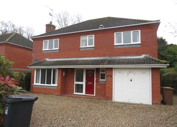 Thumbnail 4 bed detached house for sale in Lynfield Road, North Walsham