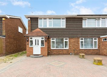 Thumbnail 3 bed semi-detached house for sale in Oakdene Close, Hornchurch