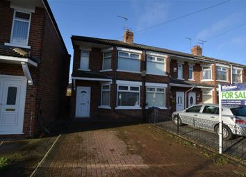 Thumbnail 3 bed end terrace house for sale in Sunningdale Road, Hull