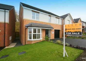 Thumbnail 4 bed detached house for sale in Markle Grove, East Rainton, Houghton Le Spring