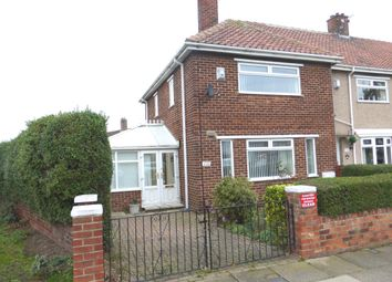 Thumbnail 2 bed end terrace house for sale in West View Road, Hartlepool