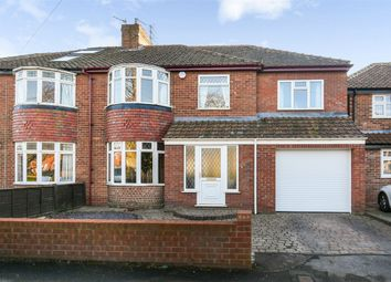 Thumbnail 5 bed semi-detached house for sale in Hunters Way, Dringhouses, York