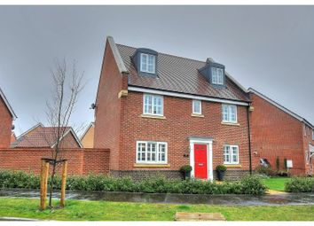 Thumbnail 5 bed detached house for sale in Goldfinch Drive, Attleborough
