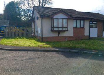 Thumbnail 2 bed semi-detached bungalow to rent in Llwyn Brwydrau, Llansamlet, Swansea, Mid Glamorgan