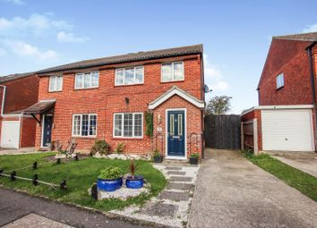 Thumbnail 3 bed semi-detached house for sale in Talland Road, Fareham