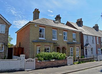 Thumbnail 2 bed semi-detached house for sale in Western Road, Lymington