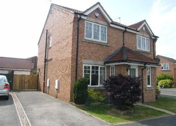 Thumbnail 2 bed semi-detached house to rent in Minchin Close, York, North Yorkshire