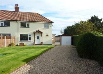 Thumbnail 3 bed semi-detached house for sale in Rose Cottage, Thoresby Bridge, Marshchapel, Grimsby
