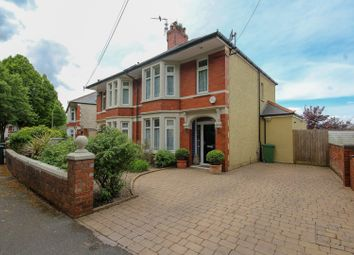 Thumbnail 3 bed semi-detached house for sale in Kyle Crescent, Cardiff
