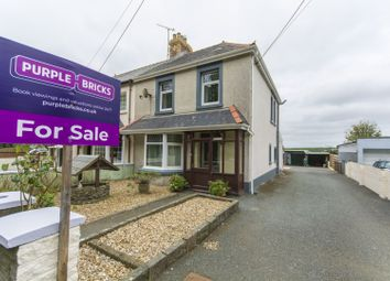 Thumbnail 3 bed semi-detached house for sale in St. Davids Road, Haverfordwest