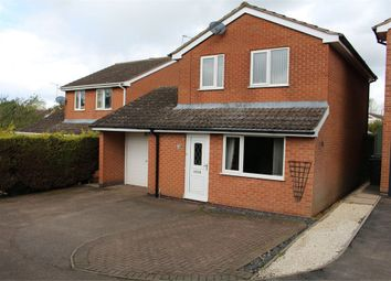 Thumbnail 3 bed detached house for sale in Walnut Close, Broughton Astley, Leicester