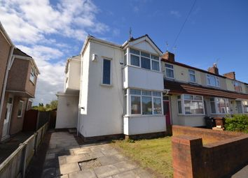 Thumbnail 3 bedroom end terrace house for sale in Buttermere Gardens, Crosby, Liverpool