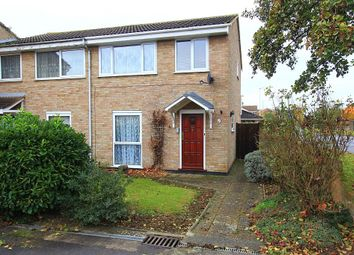 Thumbnail 3 bedroom end terrace house for sale in Snowdrop Close, Chelmsford, Essex