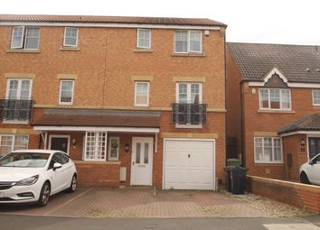 Thumbnail 5 bed town house for sale in Redgrave Close, St James Village, Gateshead, Tyne & Wear