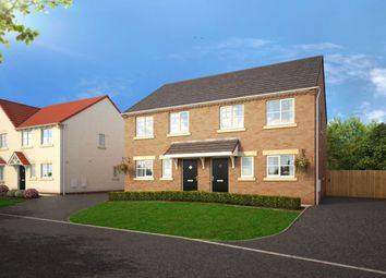 Thumbnail 3 bed semi-detached house for sale in Middle Deepdale, Eastfield, Scarborough