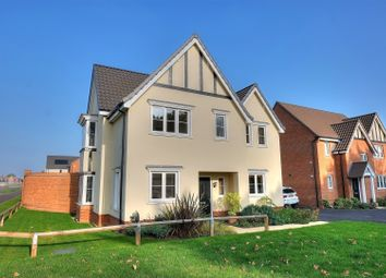 Thumbnail 4 bed detached house for sale in New Road, Attleborough