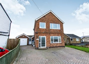 Thumbnail 3 bed detached house for sale in St Michaels Lane, Wainfleet St. Mary, Skegness