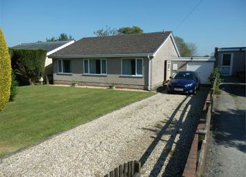 Thumbnail 3 bed detached bungalow for sale in 2 Cross Inn Road, Caerwedros, Nr New Quay, Ceredigion